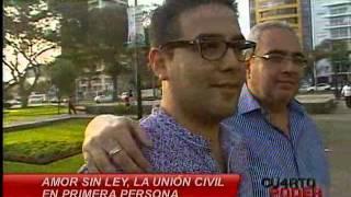 Repeat youtube video Cuarto Poder: Parejas homosexuales señalan que ley de unión civil sería parte de la inclusión social