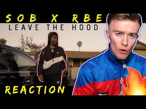 SOB x RBE(Yhung T.O)-LEAVE THE HOOD(REACTION!!)