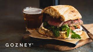 The Ultimate Steak Sandwich   Roccbox Recipes   Gozney
