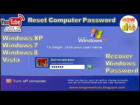 how to remove/bypass windows 8/8.1 admin password