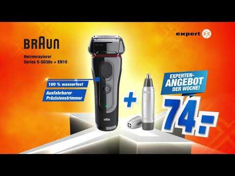 Braun Rasierer  Series 5-5030s + Pflegeset - Experten-Angebot Der Woche