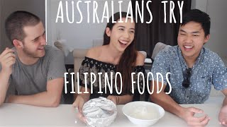 Australians Try Filipino Foods (Including Balut!)