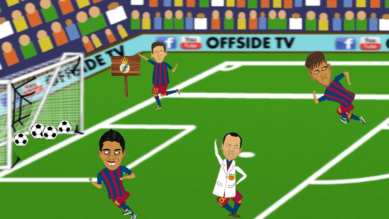 Real Madrid 0 4 Barcelona Goals And Highlights Of El