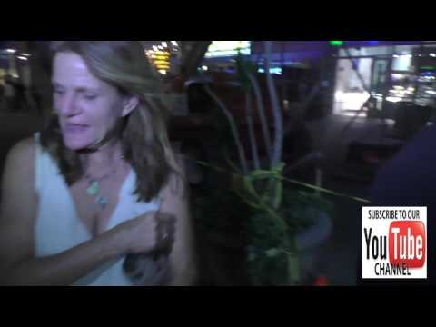 Dale Dickey talks about Alien movies outside ArcLight Theatre in Hollywood
