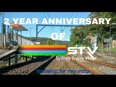 Transport for NSW Vlog No.868 Wondabyne - STV 2 Year Anniversary Meet & Greet