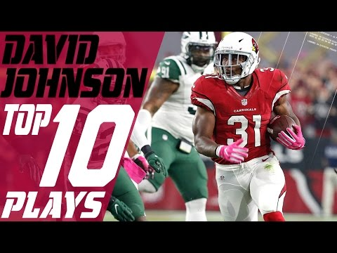David Johnson's Top 10 Plays of the 2016 Season | NFL Highlights