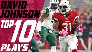 David Johnson's Top 10 Plays of the 2016 Season | Arizona Cardinals | NFL Highlights