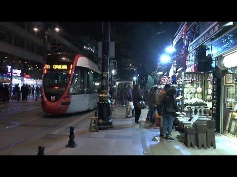 Night walk around Istanbul Sultanahmet Beyazit Laleli