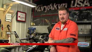 kuryakyn garage honda goldwing lever handlebar riser install