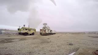 Боевые пуски из арктических ЗРК «Тор-М2ДТ» на полигоне Капустин Яр