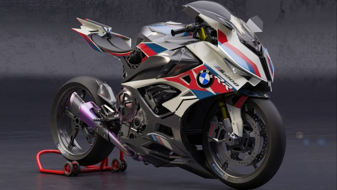 Bmw M1000rr Supercharge Engine Youtube