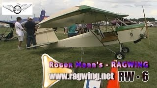 Rw 6 Ragwing Ultralight Aircraft By Ragwing Aircraft.