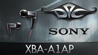 обзор наушников Sony XBA-A1AP