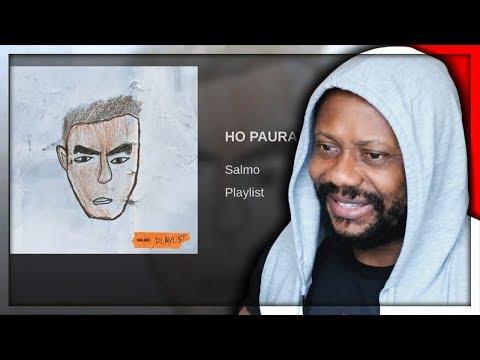 SALMO - HO PAURA DI USCIRE   REACTION!!!