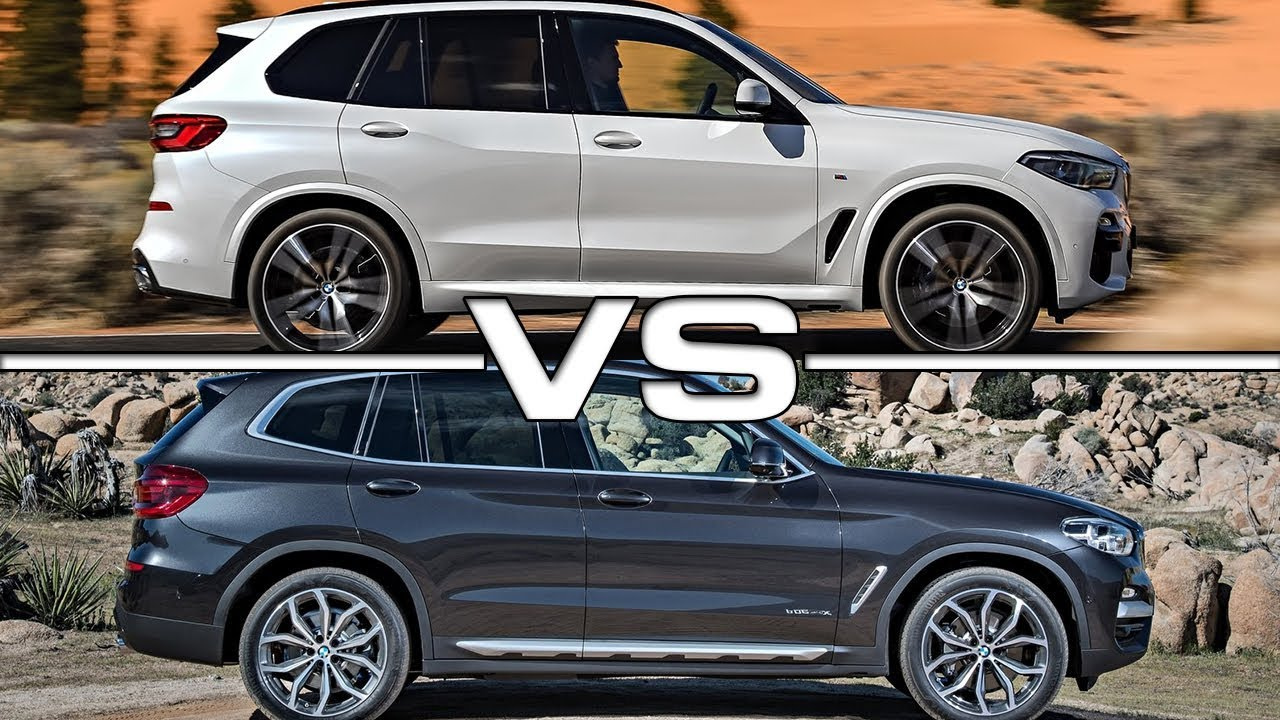 2019 BMW X5 vs 2018 BMW X3 Technical Specifications - YouTube