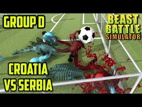 beast-battle-simulator-soccer---group-d---croatia-vs-serbia---the-unofficial-euro-2020-tournament