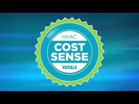 Vaisala HVAC Cost Sense Animation