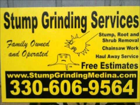Stump Grinding Services North Royalton Ohio - Call us 330-606-9564 Stump Root Shrub Removal