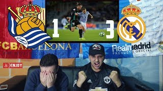 REAL MADRID IS BACK ON TRACK AFTER DEFEATING SOCIEDAD 1-3 - HIGHLIGHTS LIVE REACTION