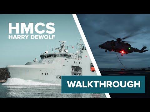 INSIDE LOOK aboard HMCS Harry DeWolf