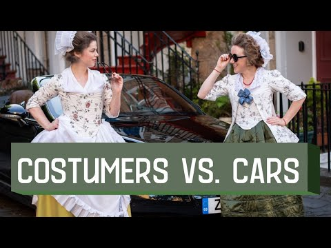 Historical Costumers vs Cars