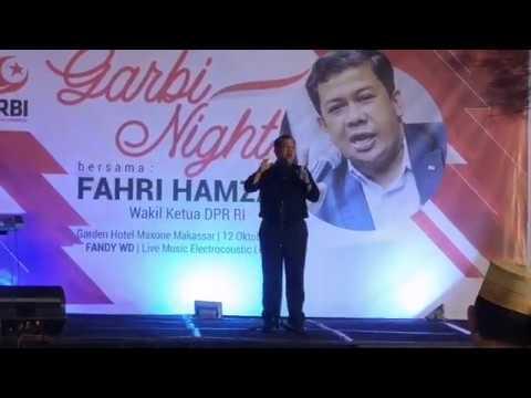 Fahri Hamzah Garbi Makassar