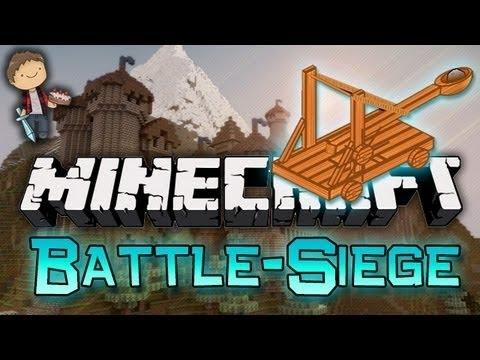 Minecraft: Battle-Siege Mini-Game! w/Mitch & Friends!