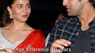 Shocking age difference between bollywood couples