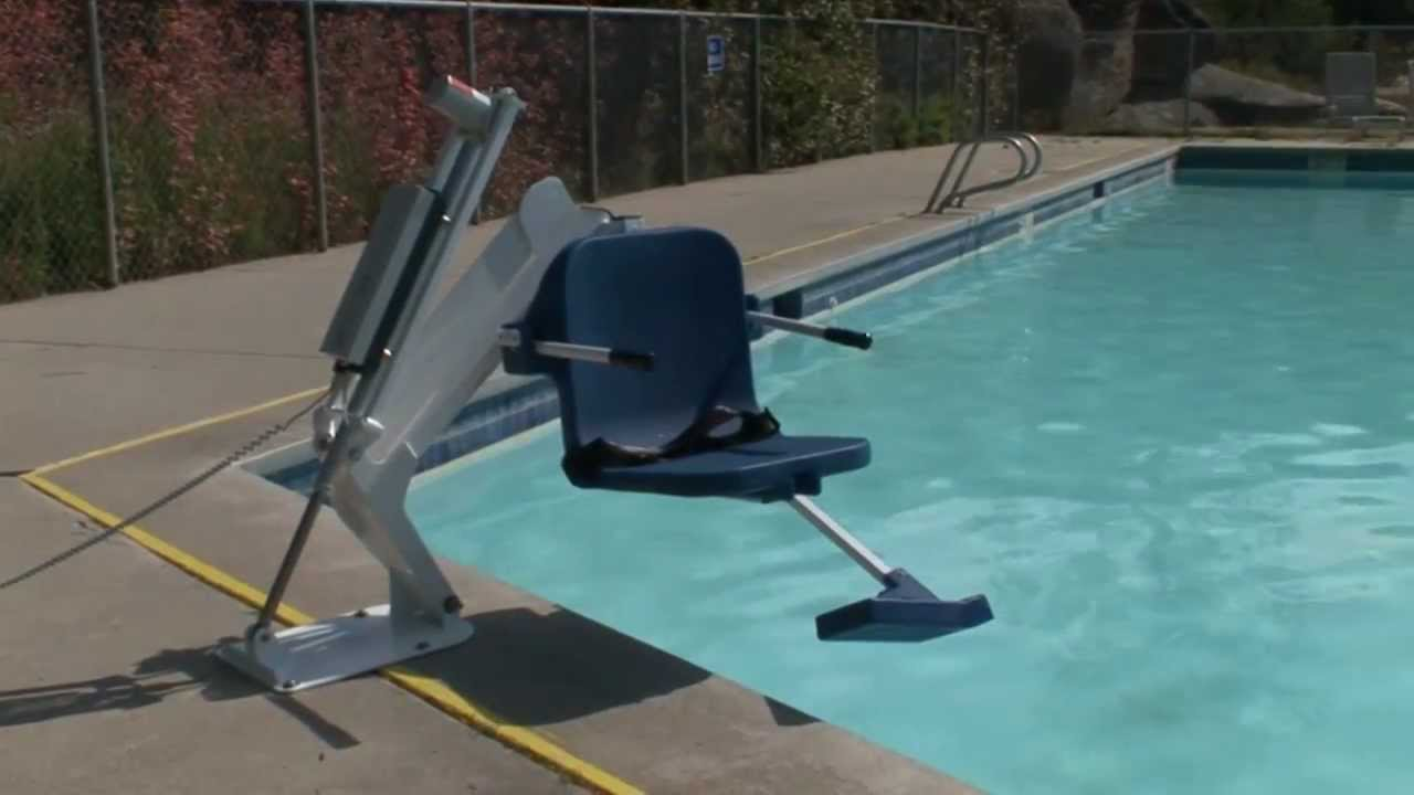 Ranger Pool Lift by Aqua Creek Products - YouTube