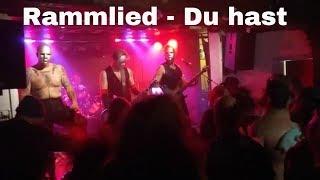 DU HAST - Rammlied live in Swindon UK No1 Rammstein Tribute Band