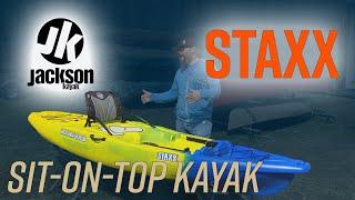 Jackson Kayak's Staxx - Stackable Kayak That Can Upgrade Into A Fishing Kayak