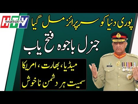 Haqeeqat TV: Biggest Victory For Qamar Bajwa From SC With New Extension