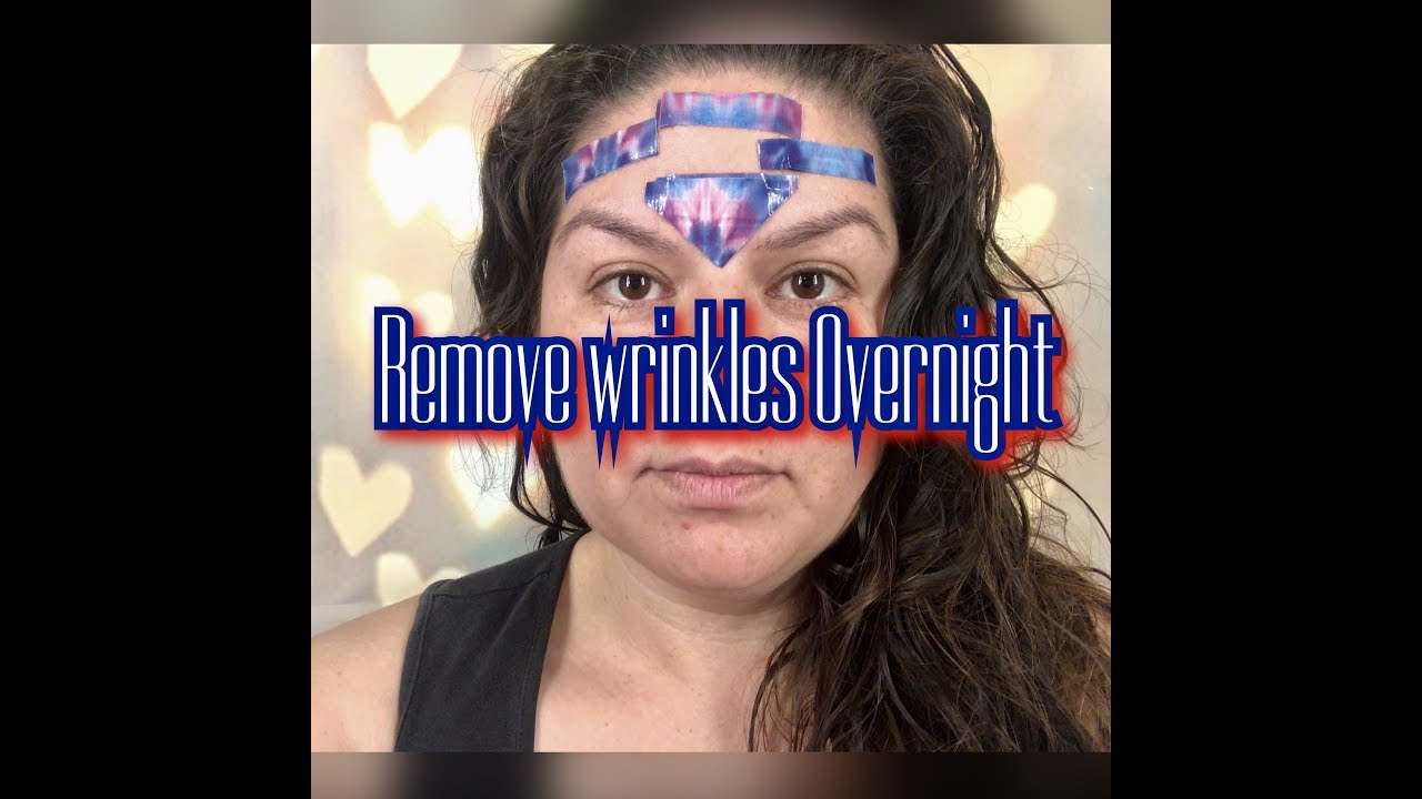 how to get rid of wrinkles on forehead fast