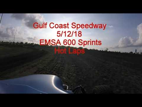 Gulf Coast Speedway 5/12/2018 EMSA 600 Sprint