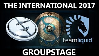 EG vs Team Liquid GAME 2, The International 2017, Team Liquid vs EG