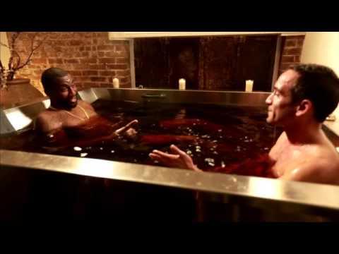 Hudson - Wait! Wine bath therapy??!!