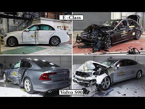 Volvo S90 VS Mercedses E-Class Crash Test