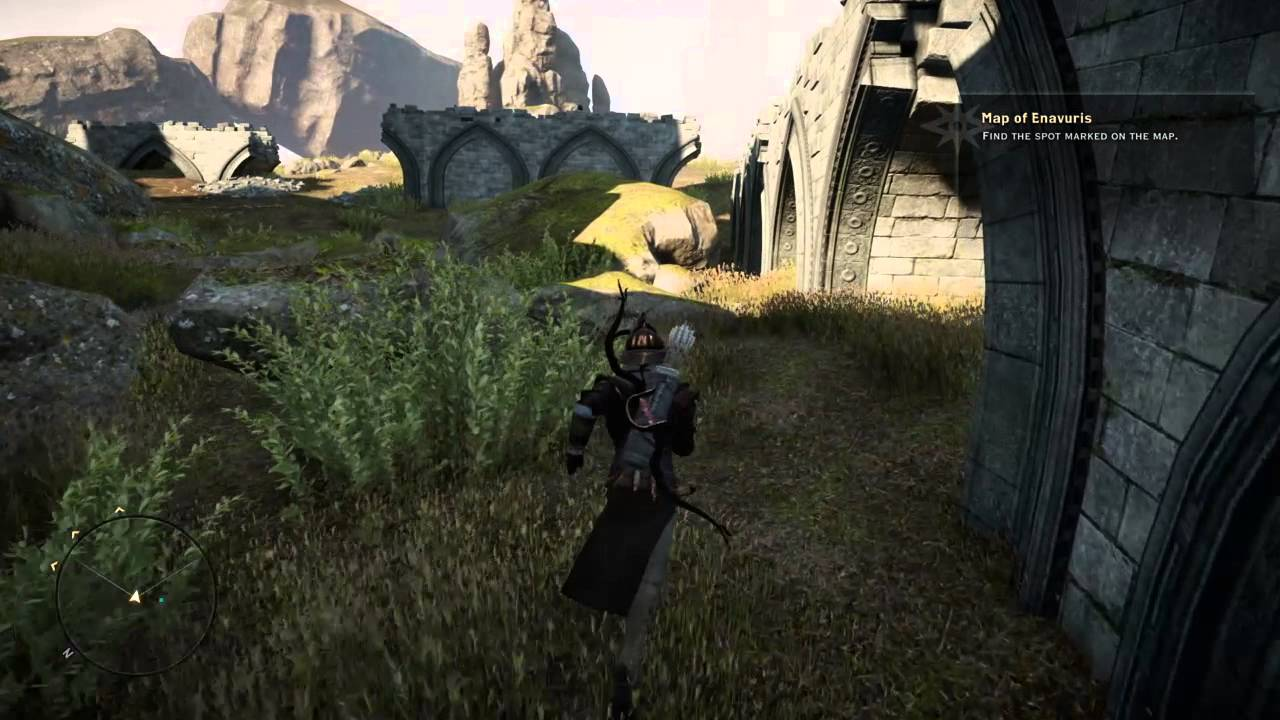 Map of Enavuris Location - Exalted Plains - Dragon Age: Inquisition ...