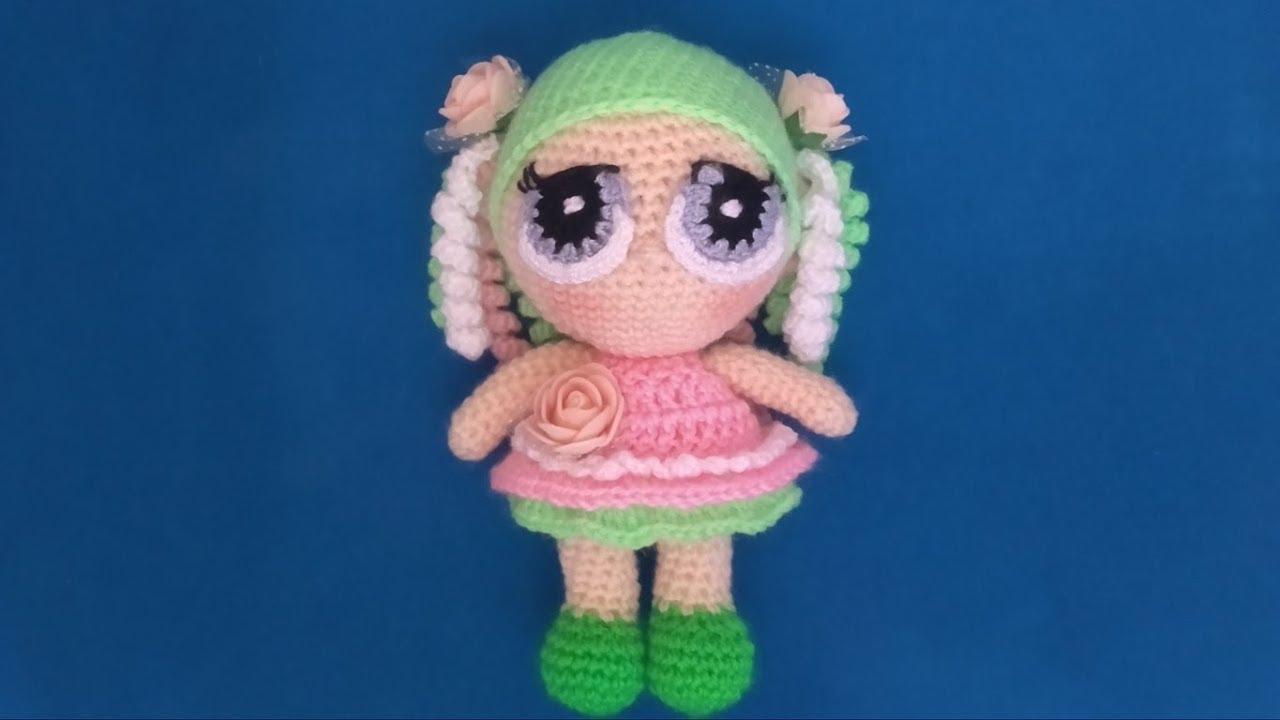 Angelo Amigurumi -Parte 1 👼🏻 Tutorial Natale - Angel Crochet Christmas -  Angelito Crochet - YouTube | 720x1280