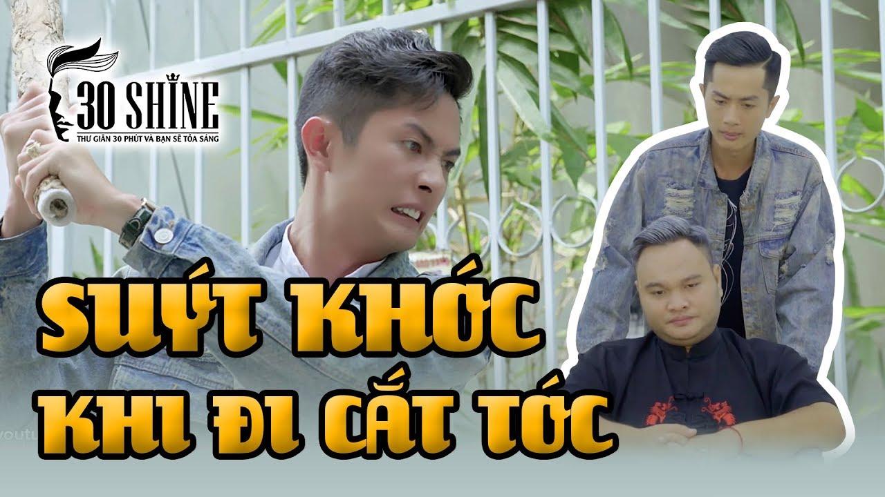 Huỳnh Phương FAPtv Suýt Khóc Khi Được Thái Vũ Đưa Đi Cắt Tóc A-Z | 30Shine TV
