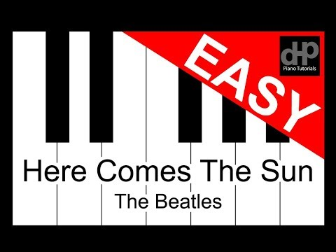 Here Comes The Sun - The Beatles Easy Mode