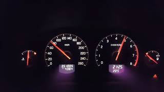 Volvo S60 2.4 (170hp) Acceleration 0-160 Km/H | 0-100 Km/H