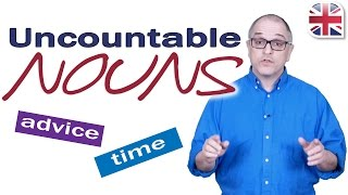 learn about uncountable nouns english grammar lesson