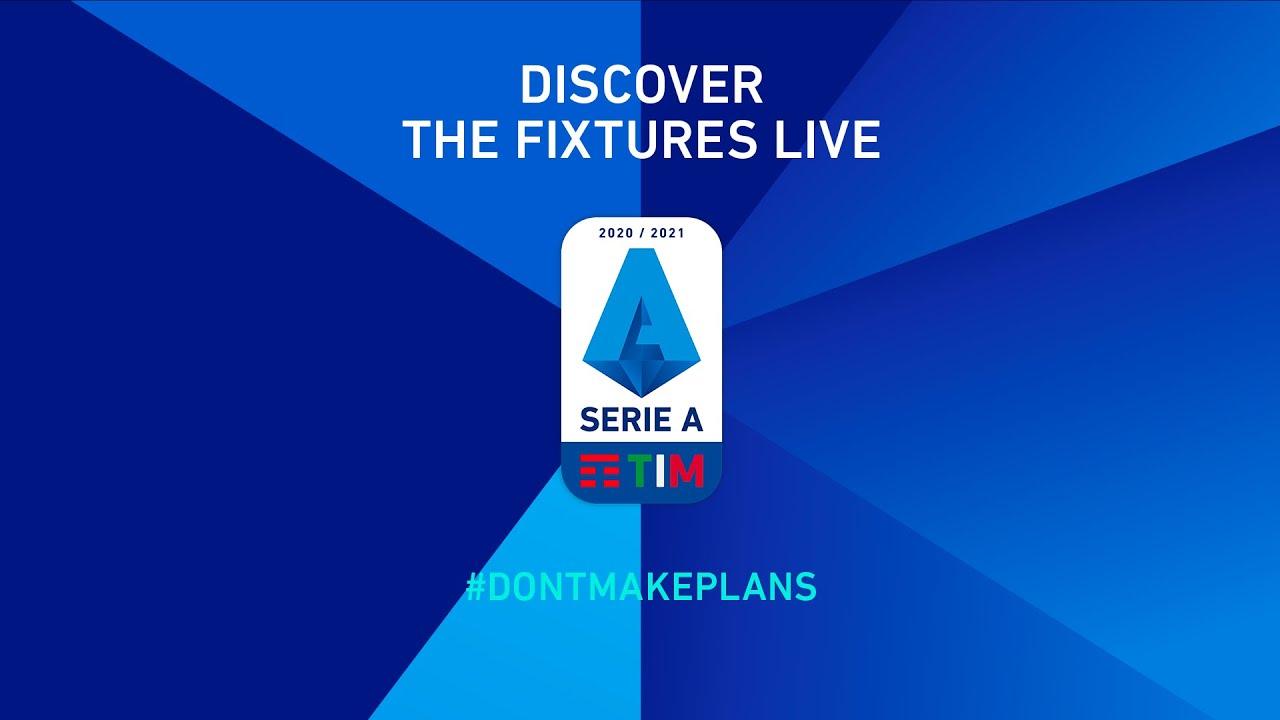 Live Serie A Tim 2020 21 Fixtures Livestream Serie A Tim Youtube