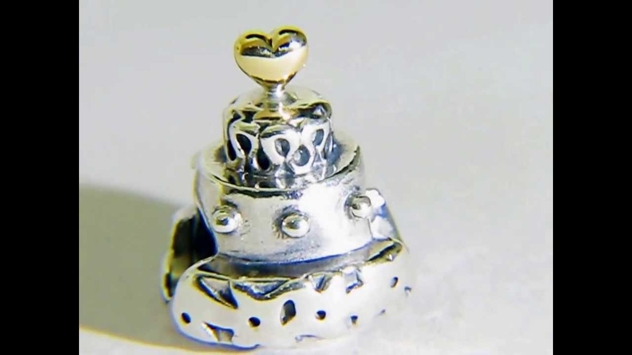 Pandora Wedding Cake Charm