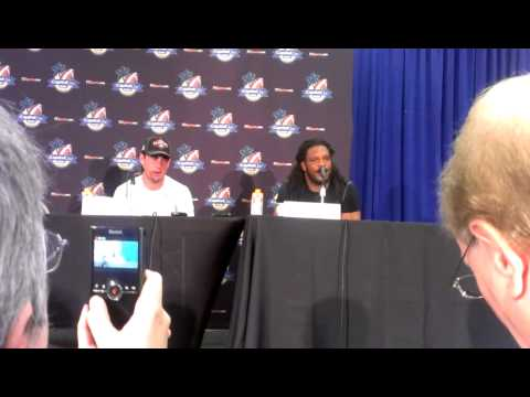 Jarvis Jones reacts to record