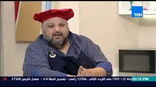 برنامج مطبخ 10/10 - الشيف أيمن عفيفي - الشيف خالد علي - طريقة عمل البانوفي باي