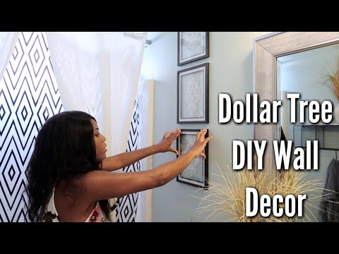 Glam Home Diy Dollar Tree Wall Decor