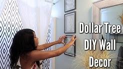 ✨Glam Home✨ DIY DOLLAR TREE WALL DECOR