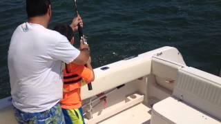 Brad H fishing fluke